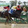 Breakin the Fever wins the 2016 Hudson Handicap<br /> Coglianese Photos/Susie Raisher