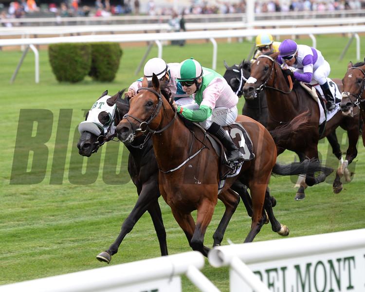 Deauville wins the 2016 Belmont Derby Invitational. <br /> Coglianese Photos/Chelsea Durand