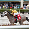 Fact Finding wins the 2016 Smooth Air Stakes.<br /> Coglianese Photos/Andie Biancone