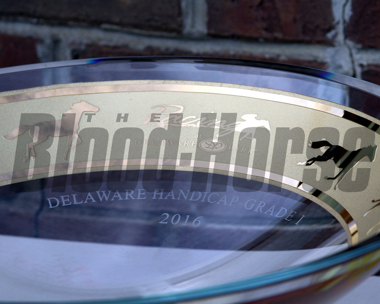 Delaware Handicap Trophy Chad B. Harmon