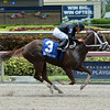 Dearest wins the 2016 Azalea Stakes.<br /> Coglianese Photos/Leslie Martin