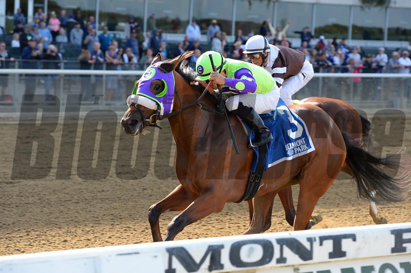 Arella Rockstar wins the 2016 Matron Stakes<br /> Coglianese Photos/Joe Labozzetta