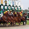 Start of 4th Race at Monmouth Park Chad B. Harmon