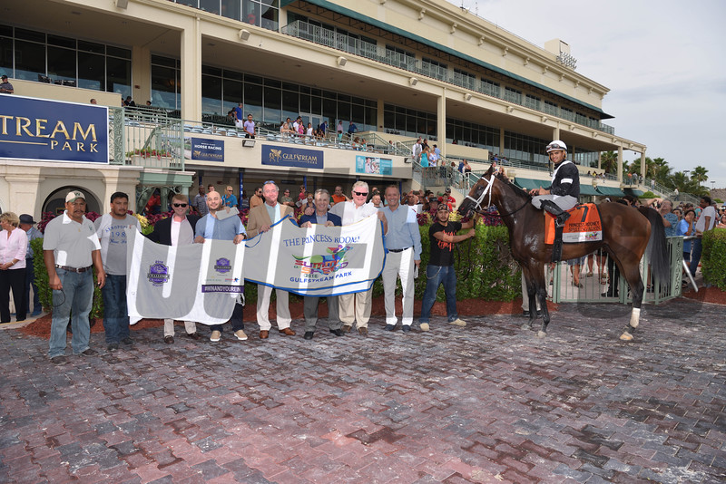 Spelling Again wins the 2016 Princess Rooney.<br /> Coglianese Photos