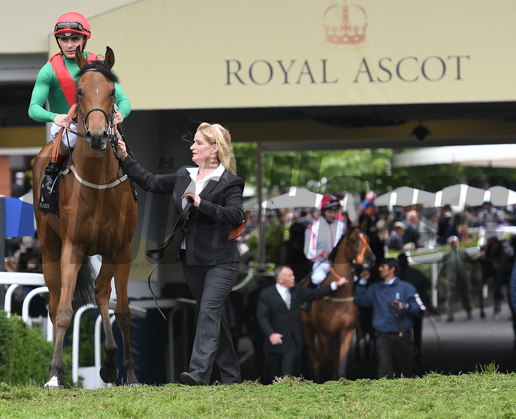 Thora Barber - Royal Ascot 2016<br /> Mathea Kelley Photo