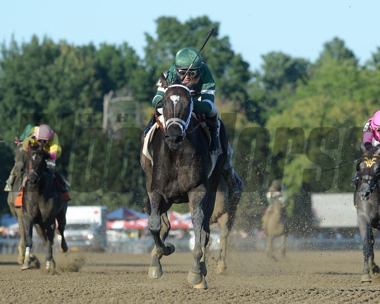Nonna Mela wins the 2016 Adirondack Stakes<br /> Coglianese Photos