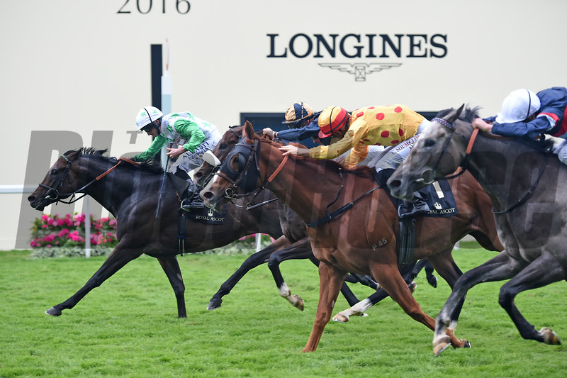 Twilight Son wins the 2016 Diamond Jubilee Stakes at Royal Ascot on June 18, 2016.<br /> Mathea Kelley Photo