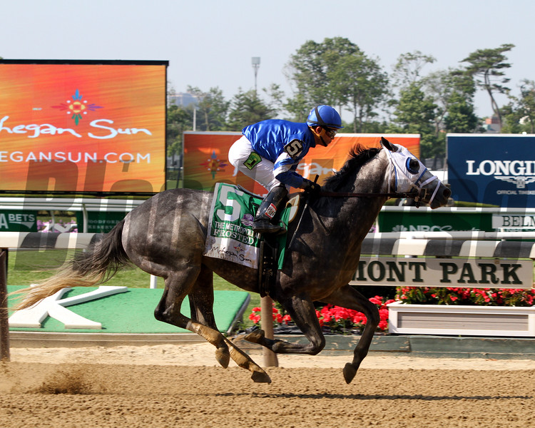 Frosted Joel Rosario Met Mile Belmont Park Chad B. Harmon