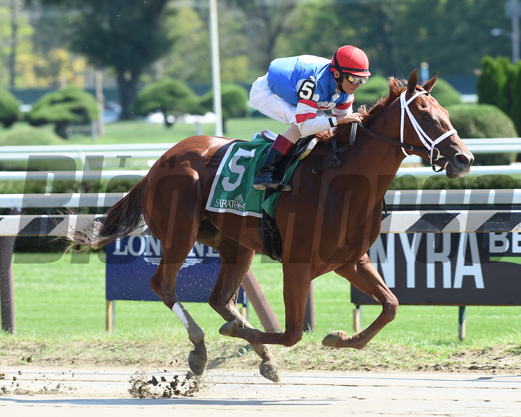 Syndergaard wins the 2016 Funny Cide Stakes.<br /> Coglianese Photos