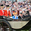 The Queen June 16, 2016 at Royal Ascot