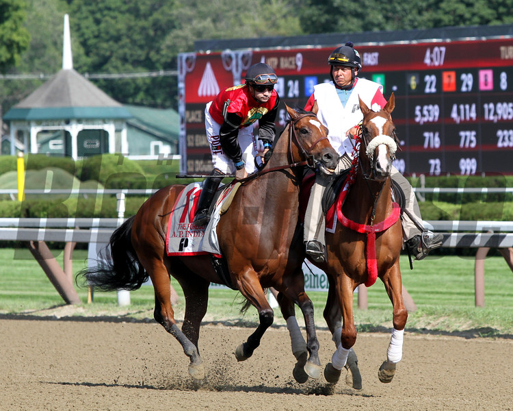 A. P. Indian Joe Bravo Forego Saratoga Chad B. Harmon