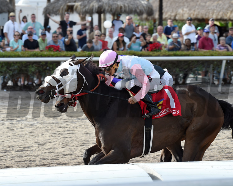 Chepstow wins the 2016 Claiming Crown Iron Horse<br /> Coglianese Photos/Lauren King
