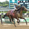 Bust Another wins the Mike Lee Stakes at Belmont Park May 30, 2016<br /> Coglianese Photos