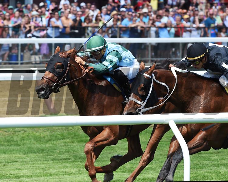 Harlan's Harmony wins the 2016 Skidmore Stakes<br /> Coglianese Photos/Chelsea Durand