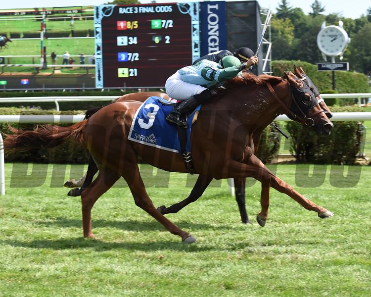 Harlan's Harmony wins the 2016 Skidmore Stakes<br /> Coglianese Photos