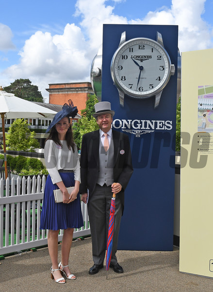 Longines people scene at Royal Ascot