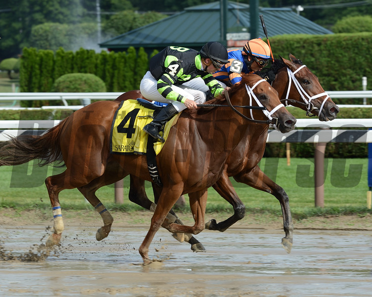 Lost Raven wins the 2016 Coronation Cup Stakes.<br /> Coglianese Photos