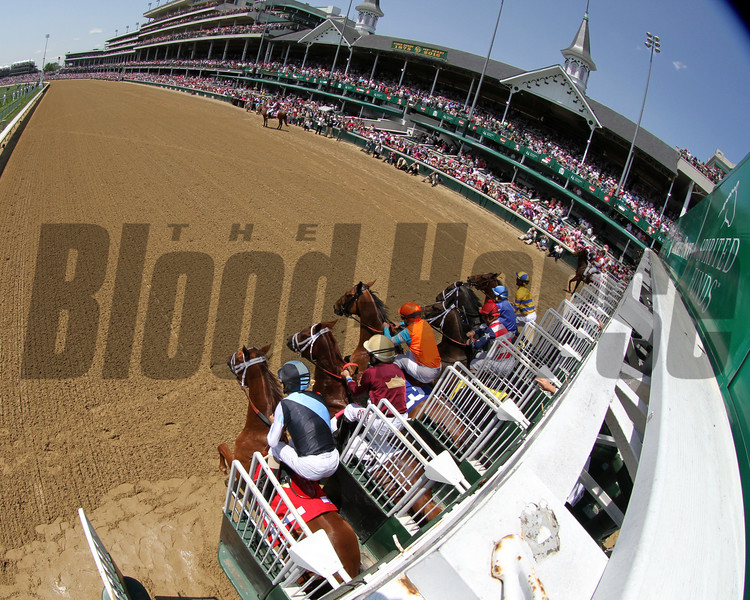 La Troienne Start Churchill Downs Chad B. Harmon