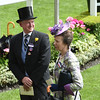 Mr. Farrish and Princess Anne<br /> Royal Ascot, UK <br /> 6/15/16<br /> Mathea Kelley