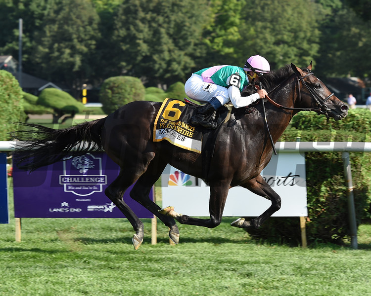 Flintshire wins the 2016 Sword Dancer.<br /> Coglianese Photos/Susie Raisher