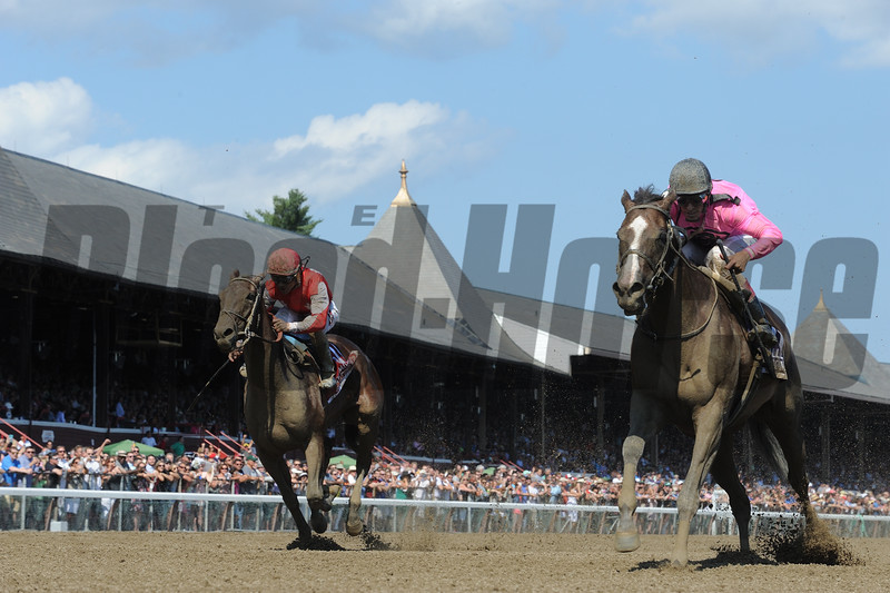 Haveyougoneaway wins the 2016 Ballerina Stakes.<br /> Coglianese Photos