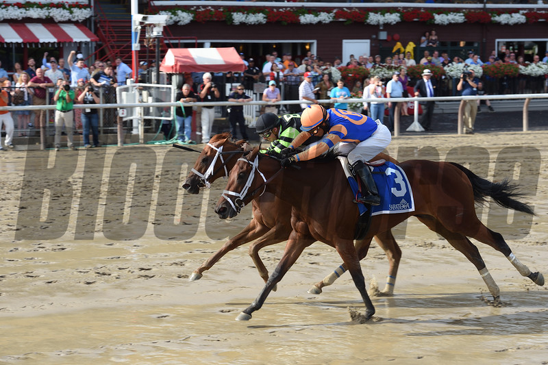Lost Raven wins the 2016 Coronation Cup Stakes.<br /> Coglianese Photos/Jamie Coulter
