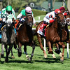 #1 Shining Copper with jockey Jose Ortiz wins the 4th running of The Fasig-Tipton Lure Saturday August 6, 2016 at the Saratoga Race Course in Saratoga Springs, N.Y. .  Photo by Skip Dickstein
