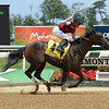 Carina Mia wins the 2016 Acorn Stakes.<br /> Coglianese Photos/Susie Raisher