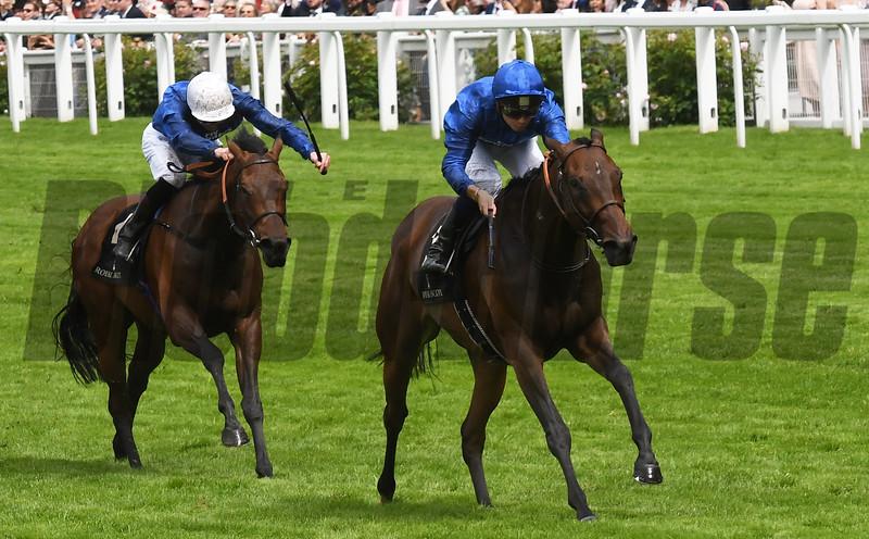 Usherette wins the Duke Of Cambridge Stakes at Royal Ascot June 15, 2016 <br /> Mathea Kelley Photo