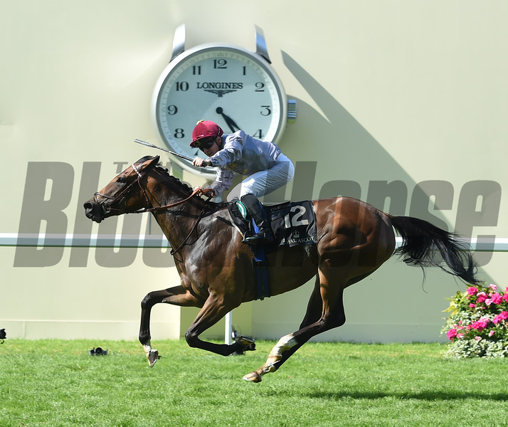 Qemah wins the 2016 Coronation Stakes at Royal Ascot on June 17, 2016.<br /> Mathea Kelley Photo