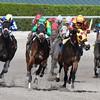 Eskenformoney wins the 2016 Rampart Stakes<br /> Coglianese Photos/Andie Biancone