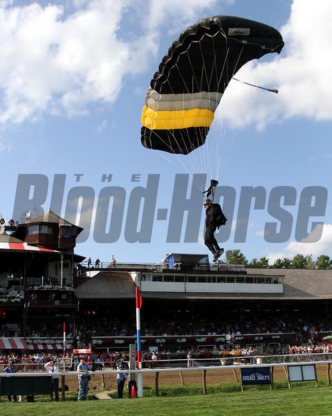 Army Parachute Saratoga Chad B. Harmon