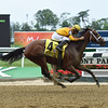 Cavorting wins the 2016 Ogden Phipps Stakes. <br /> Coglianese Photos/Susie Raisher