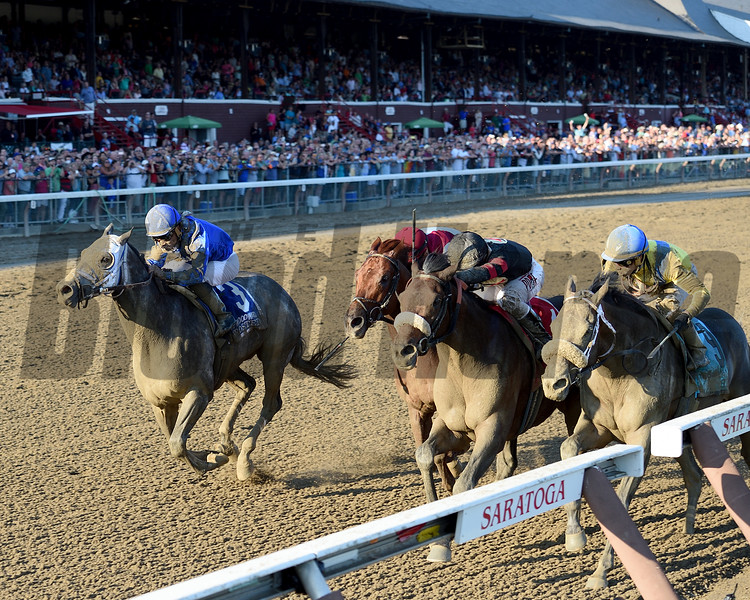 Shaman Ghost wins the 2016 Woodward<br /> Coglianese Photos/Chelsea Durand