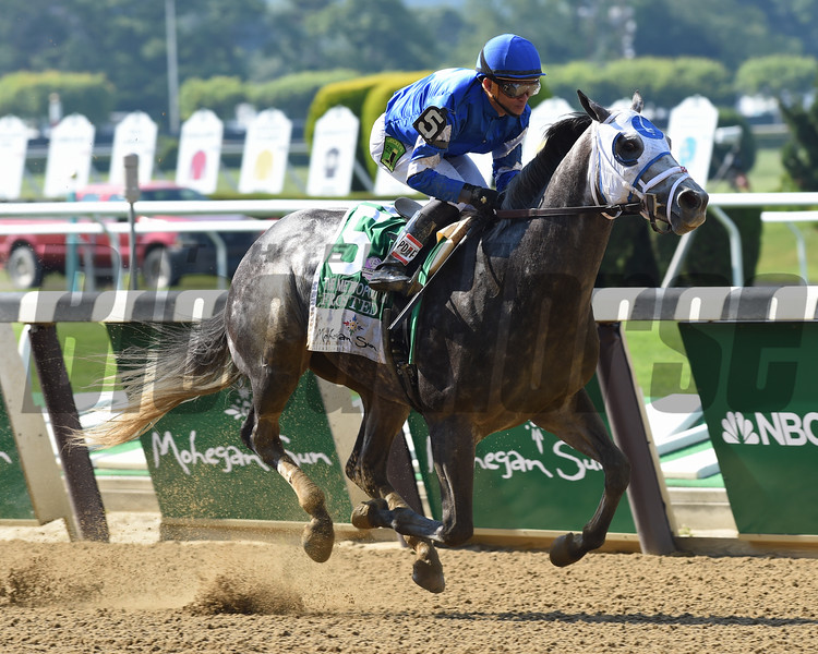 Frosted wins the 2016 Met Mile (gr. I)<br /> Coglianese Photos/David Alcosser