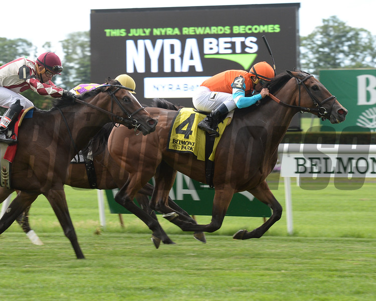 Guapaza wins the 2016 River Memories Stakes.<br /> Coglianese Photos/Chelsea Durand