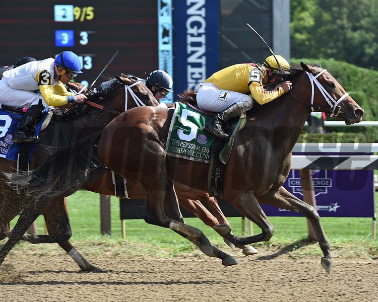 Cavorting wins the 2016 Personal Ensign.<br /> Coglianese Photos/Susie Raisher