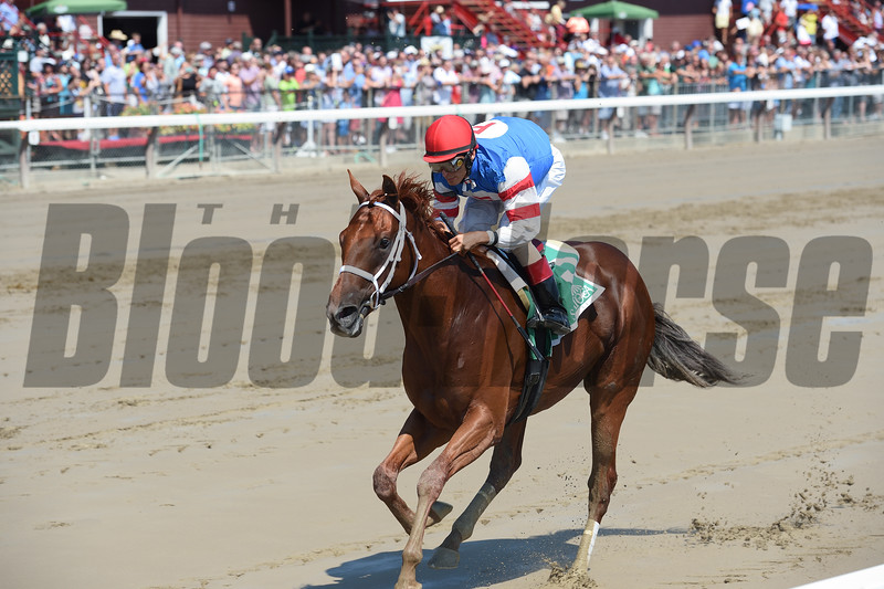 Syndergaard wins the 2016 Funny Cide Stakes.<br /> Coglianese Photos/Chelsea Durand