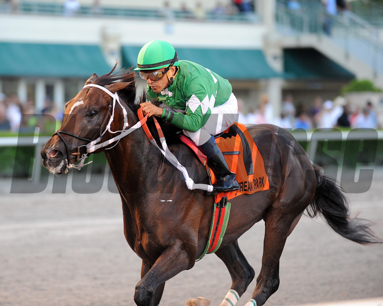 Three Rules wins the 2016 Florida Sire Series - Affirmed Division<br /> Coglianese Photos/Kenny Martin