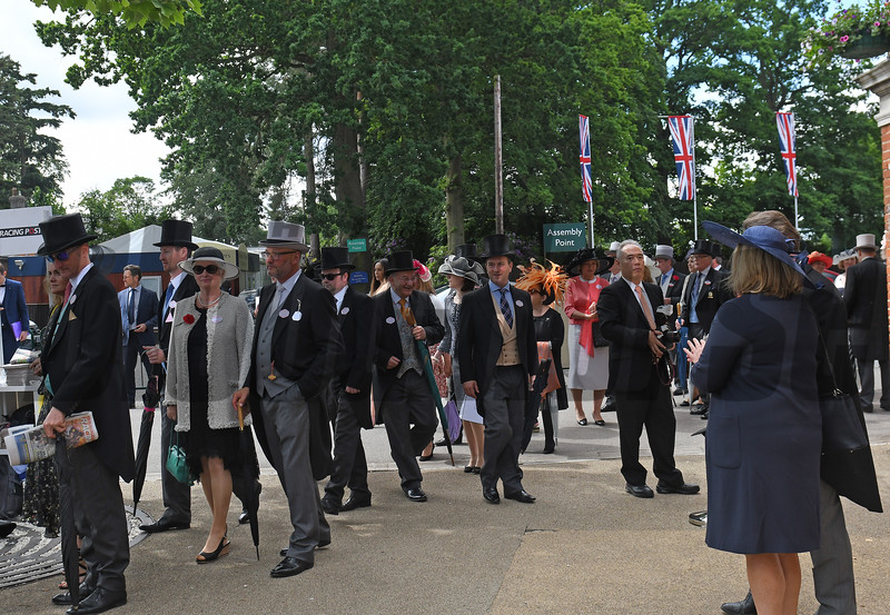 Ascot Entrance at Royal Ascot