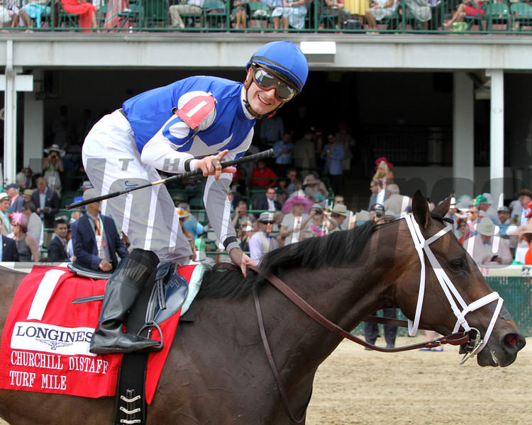 Tepin Julien Leparoux Churchill Distaff Turf Mile Chad B. Harmon