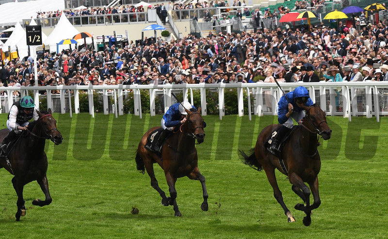 Usherette wins the 2016 Duke Of Cambridge Stakes.<br /> Royal Ascot, UK <br /> 6/15/16<br /> Mathea Kelley Photo