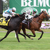 Deauville wins the 2016 Belmont Derby Invitational. <br /> Coglianese Photos