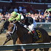 Iron Mizz wins the 2016 Seeking the Ante Stakes.<br /> Coglianese Photos/Chelsea Durand