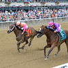 Coppa (right) wins the 2016 Victory Ride.<br /> Coglianese Photos/Chelsea Durand
