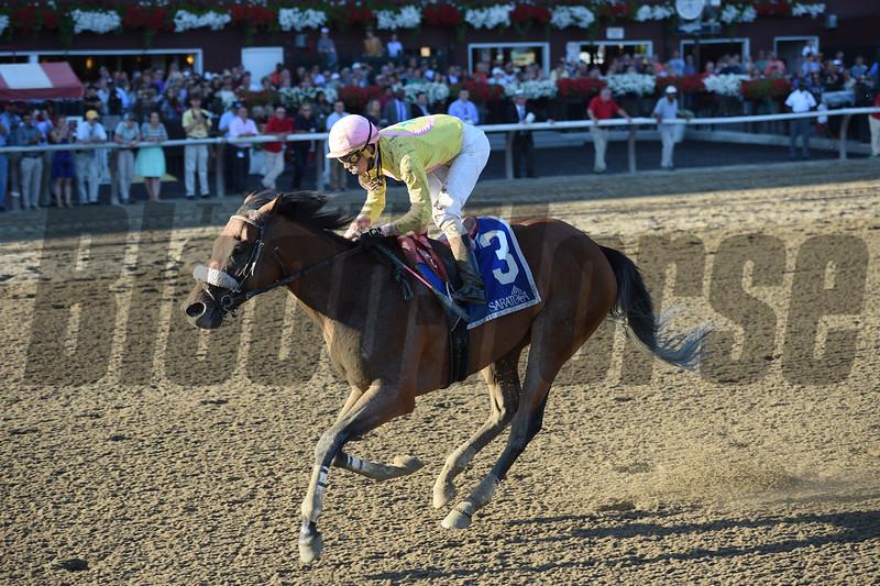 Royal Posse wins the 2016 Evan Shipman Stakes.<br /> Coglianese Photos/Chelsea Durand