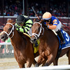 Lost Raven wins the 2016 Coronation Cup Stakes.<br /> Coglianese Photos/Chelsea Durand
