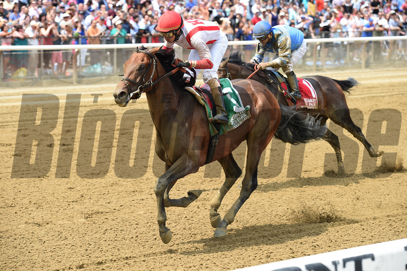 Economic Model with Irad Ortiz Jr. wins the 2016 Easy Goer.  <br /> Coglianese Photos/Beth Moose