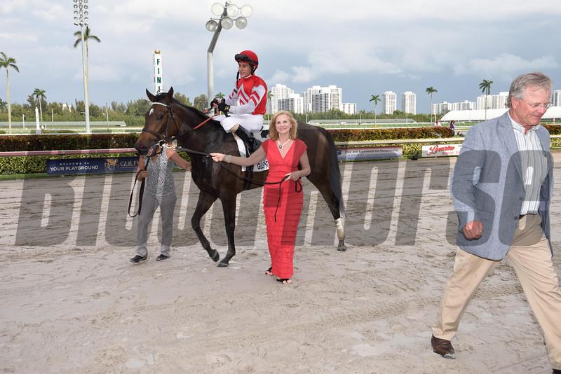 Celestine wins the 2016 Honey Fox Stakes.<br /> Coglianese Photos