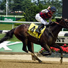 Carina Mia with Julien Leparoux wins the Acorn Stakes (gr. I).<br /> Dave Harmon Photo